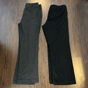 Christopher and banks dress pants 2 pairs size 12